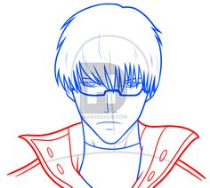 Drawing Arima From Tokyo Ghoul, Step by Step, Drawing Guide, by Dawn