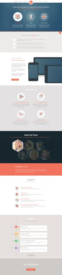 For the 'portfolio/recent work' section, if not in greyscale then we can adapt the same kind of style as they did in 'Meet the team'. Put a layer of grey above it and then emphasize only that which the user has hovered on.