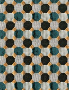 Deco seventies: les 5 bons motifs Jacquard de coton Dama (Brochier chez Jules et Jim)