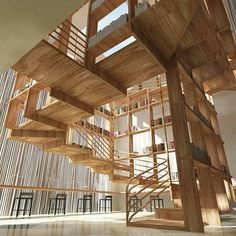 Stairs Project by Jianxiong Liu via designwanted