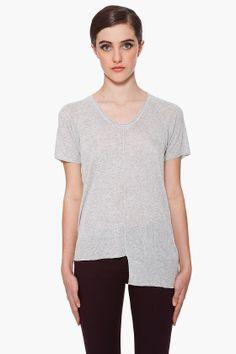 T BY ALEXANDER WANG Rib Knit T-Shirt