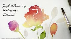 Rose Watercolor Painting Tutorial - Level 3