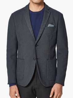At Evolve Clothing we provide the widest range of clothes from shirts to suits and everything in between. Evolve Clothing, The Selection, Dark Blue, Menswear, Footwear, Blazer, Clothes For Women, Trending Outfits, Jackets