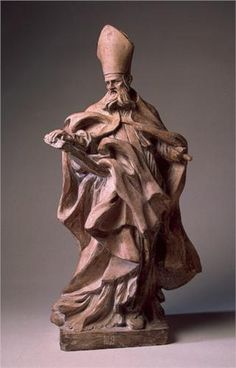 Augustine - Gian Lorenzo Bernini Find more at… Bernini Sculpture, Baroque Sculpture, Sculpture Art, Sculptures, Gian Lorenzo Bernini, Italian Sculptors, Italian Artist, Les Oeuvres, Art History