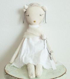 shopminikin - Jess Brown Rag Doll, Limited Edition Snowflake (http://www.shopminikin.com/jess-brown-rag-doll-limited-edition-snowflake/)