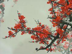 四君子之首 梅花 #国画 #梅花 #PlumBlossoms