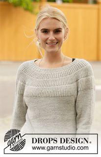 Winter Bride / DROPS - Free knitting patterns by DROPS Design - Free knitting patterns and crochet patterns by DROPS Design - Baby Knitting Patterns, Free Knitting, Crochet Patterns, Finger Knitting, Scarf Patterns, Knitting Tutorials, Drops Design, Laine Drops, Winter Bride