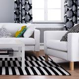 Living Room Furniture - Sofas, Coffee Tables & Inspiration - IKEA  I like this look...except our couches are black leather.