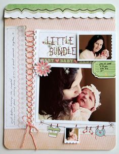 """Little Bundle""  Fancy Pants - Scrapbook.com"