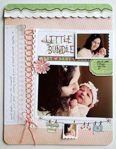"""""""Little Bundle""""  Fancy Pants - Scrapbook.com"""