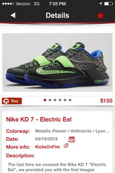 I  want   THEM Kd 7, Kd Shoes, Product Description, Nike, Metal, Metals, Kd Sneakers