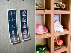 Photobooth prop ideas, pink cowboy hat, pink flamingo, pirate hat, sailor cap.  Photo by Jeremy Harwell.