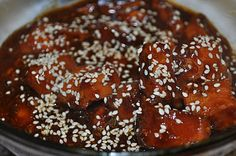 Honey   Sesame Chicken  - Crockpot