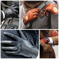 #Leather #Gloves  #Touchgloves #Touch #Driving #Fall #Fashion #Mens