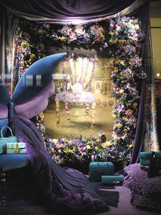 Paris store window Christmas
