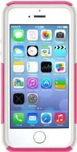 OtterBox Commuter Series Case for iPhone 5 & 5S - Frustration-Free Packaging - Pink/White