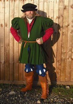Tudor man (early to mid 16th century)