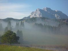 Au dessus du lac Schmalensee. Bavière