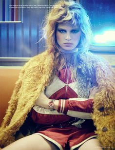 Anna Ewers lands her first i-D mag cover for the Winter 13 issue and a gorgeous editorial… Check it out!  Photographer: Boo George  Styling: Havana Laffitte