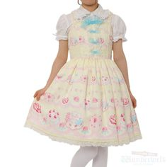 Whip showcase dress: yellow Brand: Angelic pretty ¥ 16,990 tax - Product detail - No notation size Length: 87cm Polyester: 100% Rank B: remarkable wound, dirt-free second-hand goods