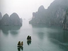 Sail into Ha Long Bay in Vietnam. UNESCO site since 1994. More reasons to #travel at Fall Into Yesterday!