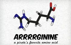 Pirate jokes have a special spot in my heart, as do amino acids...