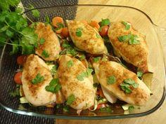 Edel's Mat & Vin : Ovnsbakt kyllingfilet med grønnsaker !