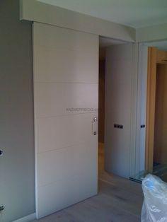 Ideas Para, Gate, Garage Doors, Outdoor Decor, Home Decor, Wood Doors, Sliding Doors, Vestidos, Folding Doors