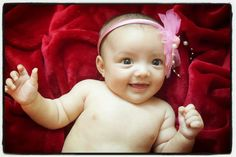 2 months old, baby photography, baby girl
