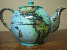 Cardew's Terrestrial Globe Teapot