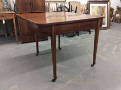Early 19th Century Federal Style Game Table