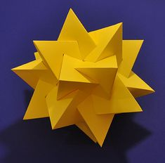 How to make a model of five intersecting tetrahedra