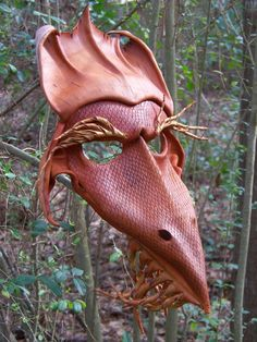 Earth dragon mask by Darke-Shaman.deviantart.com on @deviantART