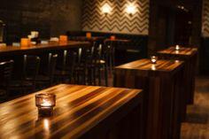 Design Interieur Lobby Bar Montréal  #bar #montreal #design #plateau #standing #table #chandelles   www.lobbybar.ca