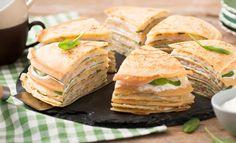 Pfannkuchen mit Schinken und Käse | Mondamin