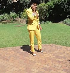 #ootd Yellow Suit, Ootd, Suits, Style, Fashion, Swag, Moda, Fashion Styles, Suit