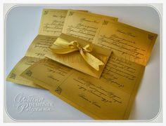 """♥ Приглашения на свадьбу. Стильная свадьба. Сайт дизайнера.: Пригласительные на свадьбу """"Венецианский блеск"""" - 9."""