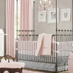Need pink curtains like this for Rileys room!