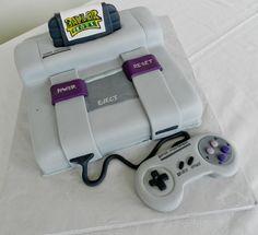 Super Nintendo Cake by atrotter719 on deviantART
