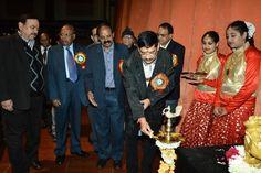 Inauguration of Sanskritik Sandhya on Bank's Foundation Day by Our MD Sh Jyoti Ghosh on 04.01.2015  Visit https://www.sbbjonline.com/