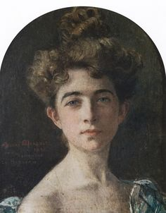 All sizes | Edgard Maxence | Portrait de Jeanne Frangeul