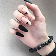 35 summer can also be recommended with Frosted nail style nails;bestnails Nails 35 summer can also be recommended with Frosted nail style Square Nail Designs, Black Nail Designs, Gel Nail Designs, Heart Nail Designs, Almond Nails Designs, Cute Nail Designs, Stylish Nails, Trendy Nails, Short Square Nails