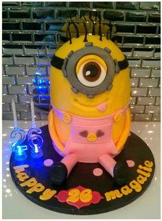 les minions cake