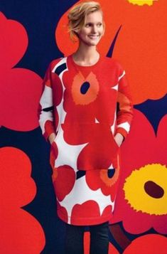 Colour Therapy, 50 And Fabulous, Grown Women, Over 50, Marimekko, Fashion Over 40, Life Is Good, Sewing, My Style