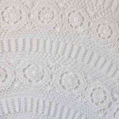 Crochet lace table cloths