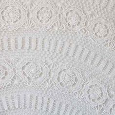 Crochet Table Cloths on wedding tables and chairs for rent