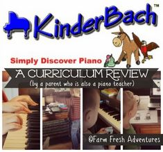 Online Piano Lesson Curriculum Review from a parent/piano teacher #hsreviews #homeschool #musiclessons #pianolessons #kinderbach