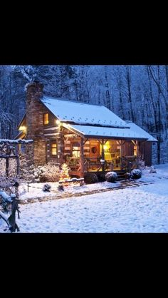 Must own a small cabin.