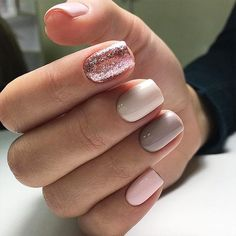 18 Beautiful Winter Nail Colors ★ Classy Pink Shades for Winter Nails Picture 1 ★ See more: http://glaminati.com/winter-nail-colors/ #winternails #nailcolors