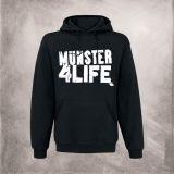 """Der Klassiker...das bekannte """"Münster 4 Life"""" Logo auf dem gemütlichsten BlackHoodie."""